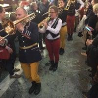 Photo taken at Restaurant In De Doelen by John K. on 5/25/2016