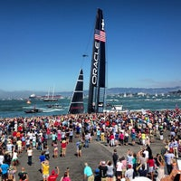 Photo taken at America's Cup Pavilion by John K. on 9/8/2013