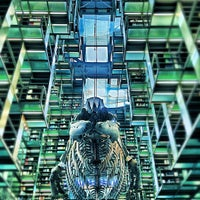 Photo taken at Biblioteca Vasconcelos by Erick A. on 10/10/2012