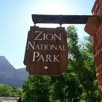 Photo taken at Zion National Park Visitor Center by Charita A. on 5/25/2013
