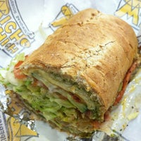 Photo taken at Which Wich? Superior Sandwiches by Pikture P. on 1/16/2013