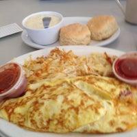 Photo taken at Waffle Hut by Judy M. on 1/13/2014