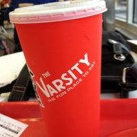 Photo taken at The Varsity by Julie L. on 12/16/2012