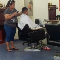 Photo taken at Selsan Hair Cut by Suzirawati S. on 2/13/2014