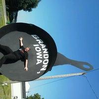 Iowa S Largest Frying Pan Monument Landmark In Brandon