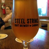 Photo taken at Steel String Brewery by Todd B. on 5/10/2013