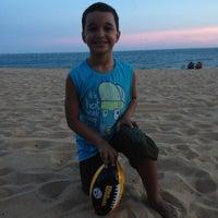 Photo taken at Praia linda by Antomelio T. on 12/21/2012