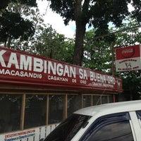 Photo taken at Kambingan Sa Buena Oro by PPP on 1/11/2013