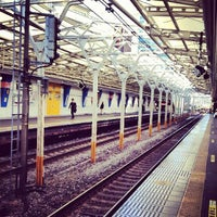 Photo taken at Suidobashi Station by oceantree w. on 11/21/2012
