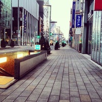 Photo taken at Ginza-itchome Station (Y19) by oceantree w. on 1/19/2013