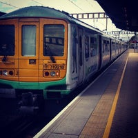 Photo taken at Luton Airport Parkway Railway Station (LTN) by hirotomo on 7/25/2013