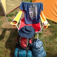 Photo taken at Fuji Rock Festival '13 Camp Site by joruri on 7/28/2013