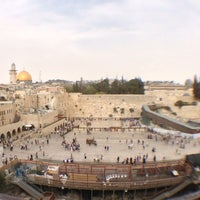 Photo taken at The Western Wall (Kotel) by Henrik F. on 10/21/2012