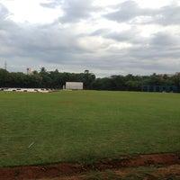 Photo taken at Chemplast Cricket Ground IITM by Ranjith k. on 7/28/2013