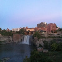 Photo taken at High Falls by Josh K. on 9/14/2013