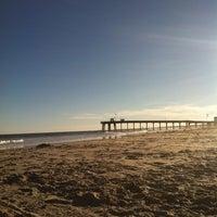 Photo taken at 13th St. Beach by Josh K. on 9/18/2013