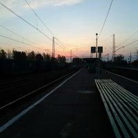 Photo taken at Ж/д станция Гжель by Dasha T. on 9/28/2012