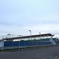 Photo taken at Jakabaring Aquatic Stadium by Diaz R. on 5/11/2017