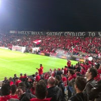 Photo taken at Bloomfield Stadium by Maor G. on 11/11/2012