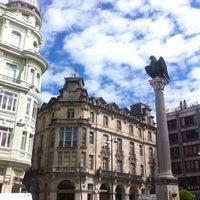Foto tirada no(a) Praza de Santo Domingo por Imemine em 7/24/2013