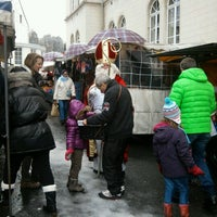 Photo taken at Marché de Boitsfort / Markt van Bosvoorde by Cindy D. on 12/2/2012