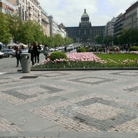 Photo taken at Wenceslas Square by Feofan on 5/4/2013