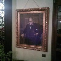 Photo taken at British Club lviv by Кирилл Б. on 12/13/2013