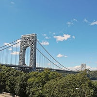 Photo taken at George Washington Bridge by Sarah H. on 9/16/2012