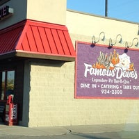 Photo taken at Famous Dave's by Kimberly J. on 9/27/2014