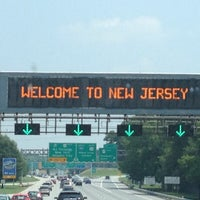 Photo taken at Welcome To New Jersey by Dr. Liz on 7/19/2013