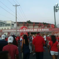 Photo taken at Estadio Rommel Fernández by Gustavo F. on 6/7/2013