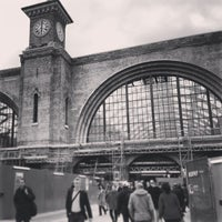 Photo taken at London King's Cross Railway Station (KGX) by Alexander W. on 5/17/2013