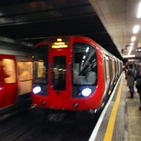 Photo taken at Moorgate Railway Station (MOG) by Alexander W. on 5/17/2013