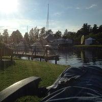 Photo taken at Göta kanal Karlsborg by Christer W. on 7/4/2014