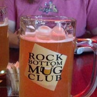 Photo taken at Rock Bottom Brewery by Bryan H. on 5/24/2013