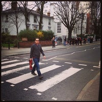 Photo taken at Abbey Road Studios by Guilherme A. on 4/18/2013