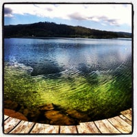 Photo taken at Stausee Soboth by Mátyás K. on 7/24/2013