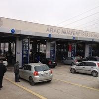 Photo taken at TÜVTÜRK Araç Muayene İstasyonu by Mehmet H. Ü. on 2/23/2013