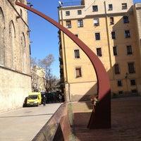 Photo taken at Fossar de les Moreres by Pablo H. on 3/15/2013