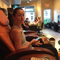 Photo taken at Queen Nails And Spa by Fire on 8/13/2015