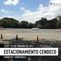 Photo taken at Estacionamiento CENDECO by ABSOLUT E. on 2/23/2013
