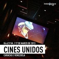 Das Foto wurde bei Cines Unidos von ABSOLUT E. am 3/17/2013 aufgenommen