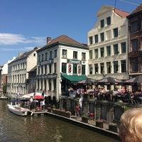 Photo taken at Het Waterhuis aan de Bierkant by Kurt P. on 7/24/2013