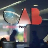 Photo taken at Ordem dos Advogados do Brasil - OAB/PI by Jordache P. on 8/26/2014