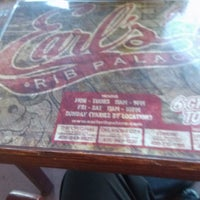 Photo taken at Earl's Rib Palace by Andrea W. on 6/28/2013