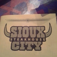 Photo taken at Sioux City Steakhouse by Michele B. on 4/13/2013
