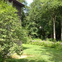 Photo taken at Louisa May Alcott's Orchard House by Linda K. on 7/14/2013