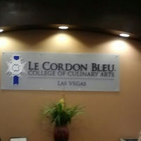Photo taken at Le Cordon Bleu College of Culinary Arts in Las Vegas by Julie S. on 4/22/2013