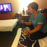 Photo taken at La Quinta Inn & Suites Dallas - Addison Galleria by Cassandra S. on 6/24/2014