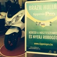 Photo taken at Honda Dream by Gergo C. on 6/21/2014